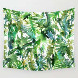 VIBE of the Jungle  {A-green} Wall Tapestry