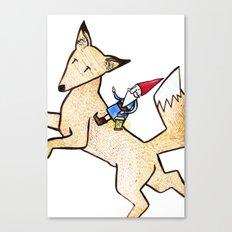 David the Gnome Canvas Print