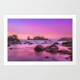 Rosie Sunset Art Print