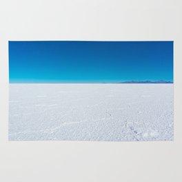 Salt Flats, Salar de Uyuni, Bolivia Rug
