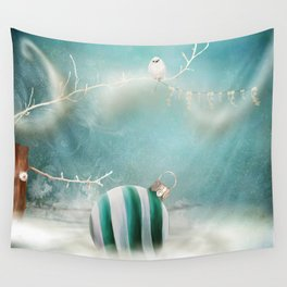 Minimal Christmas Wall Tapestry