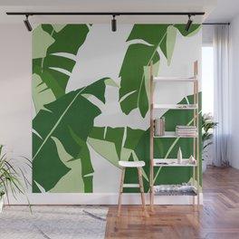 Watercolor tropical leaf XIV Wall Mural
