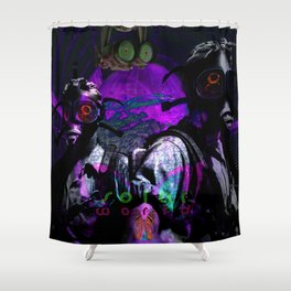 Search for Paradise Butterfly Shower Curtain