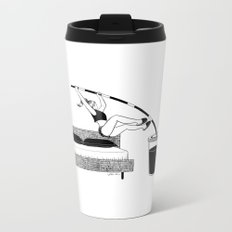 Wake up Metal Travel Mug