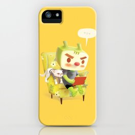 Hmm iPhone Case