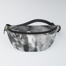 Muscovy Duck - Black & White Fanny Pack