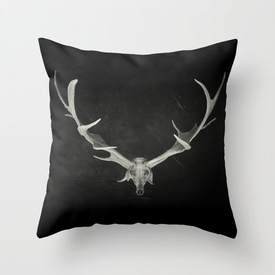 Dead King Throw Pillow
