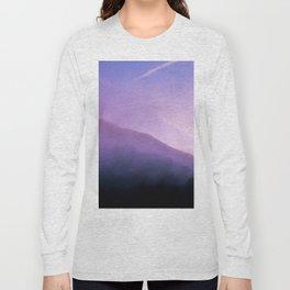 Morning Fog - Landscape Photography Long Sleeve T-shirt