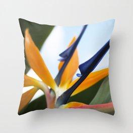 Bird of Paradise - Hawaii Throw Pillow
