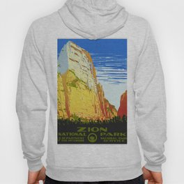 Zion National Park - Vintage Travel Hoody