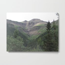 Mountain Views Metal Print