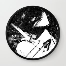 Weddersin - Existence and Extinction 3/3 Wall Clock