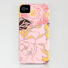 Jungle Blossoms iPhone (4, 4s) Slim Case