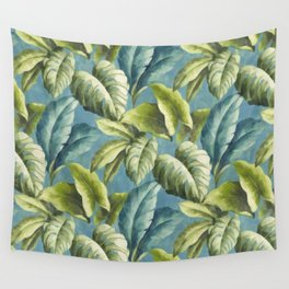 Tropical leaves Wall Tapestry