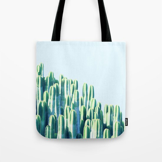 Cactus by the Sea #society6 #decor #buyart Tote Bag