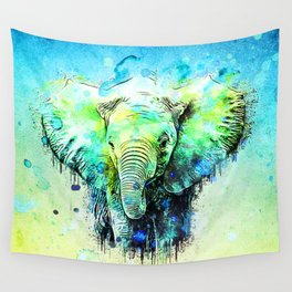Pritty Elephant Wall Tapestry