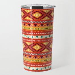 Tribal #5 * Ethno Ethnic Aztec Navajo Pattern Boho Chic Travel Mug