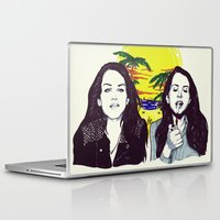 ultraviolence Laptop & iPad Skins featuring THE ULTRAVIOLENCE GIRL by Robert Red ART