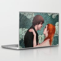 eternal sunshine of the spotless mind Laptop & iPad Skins featuring Eternal Sunshine - Meet Me In Montauk by Angela Rizza