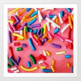 Sugary Sprinkles Art Print