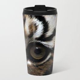Eyes of the Tiger Metal Travel Mug