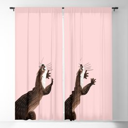 Asian small-clawed otter Blackout Curtain