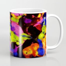 Paintskin with Orange and Blue Coffee Mug