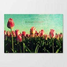 How Does Your Garden Grow? Canvas Print