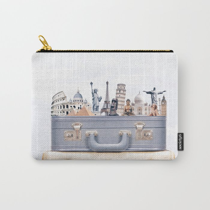 Travel Luggage Carry-All Pouch