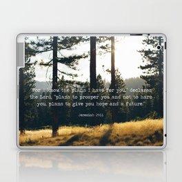 Golden Jeremiah 29:11 Laptop & iPad Skin