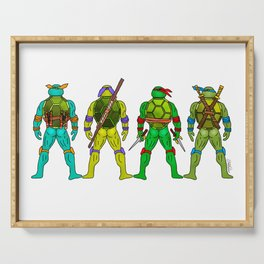 Superhero Butts - Turtles Serving Tray