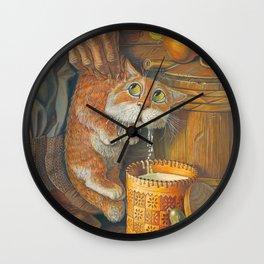 Pilferer Wall Clock