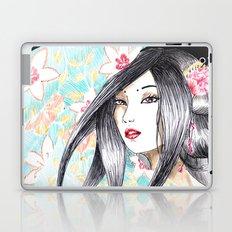 Geisha Glance Laptop & iPad Skin