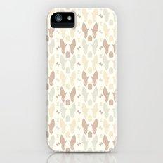 Boston Terrier Wood Pattern Slim Case iPhone (5, 5s)