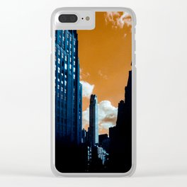 NYC Duotone 3 Clear iPhone Case