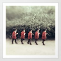 army Art Prints featuring Baby army by josemanuelerre