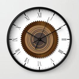 Chocolate Box Swirl Wall Clock