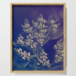 Floral Buds Serving Tray