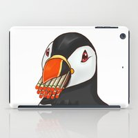 puffin iPad Cases featuring Puffin' Puffin by t-shirt lifter