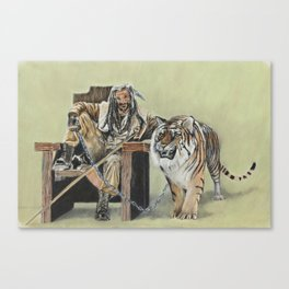 King Ezekiel and Shiva Canvas Print
