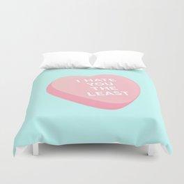 Candy Heart Duvet Cover