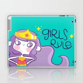 Girls Rule Laptop & iPad Skin