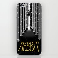 the hobbit iPhone & iPod Skins featuring The Hobbit by BolognaOverload