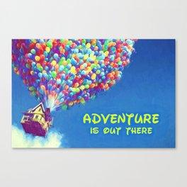 Up Balloons Canvas Print