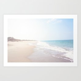 Day at the Beach x Outer Banks Art Print