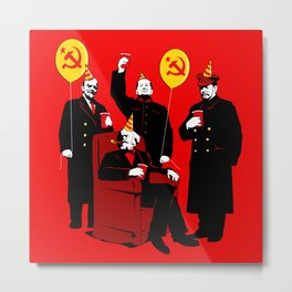 Communist Party II: The Communing Metal Print