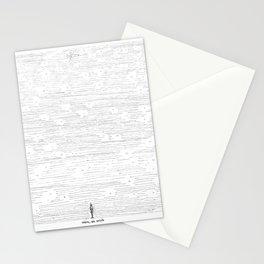 Mira un avión Stationery Cards