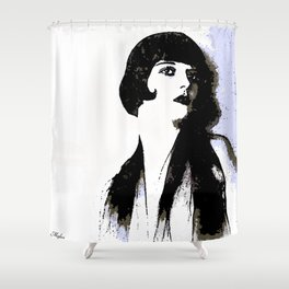 LOUISE BROOKS:  MY LOVE IS ALL I HAVE TO GIVE Shower Curtain