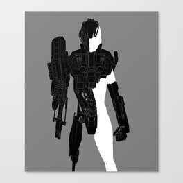 Retrorobot Canvas Print