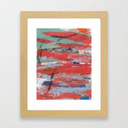 A peek into this world Framed Art Print